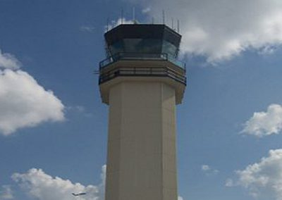 Houston Hobby Airport Tower Roof