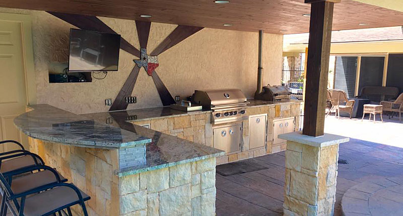Summer Kitchen Remodel - Allstate Contracting